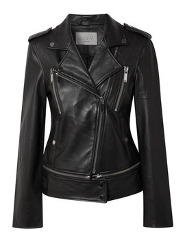 Leather Biker Jacket by Jason Wu Grey