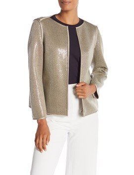 Keaton Sequin Jacket by Lafayette 148 New York