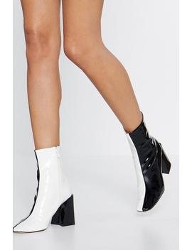 Change Your Tone Square Toe Boot by Nasty Gal