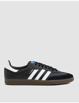 Samba Og Sneaker In Black by Adidas