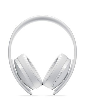 Play Station 4 Gold Wireless Gaming Headset   White by Sony