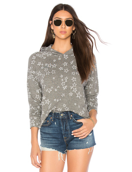 Stars Cropped Hoodie by Sundry