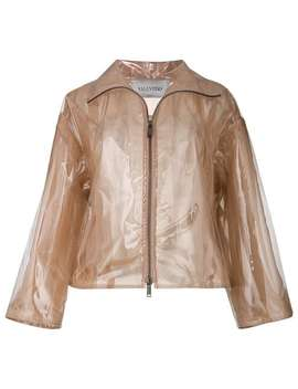 Transparent Rain Coat by Valentino