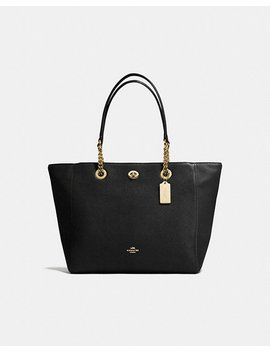 Turnlock Chain Tote by Coach