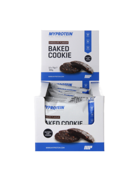 Myprotein Baked Chocolate Cookie 12 X 75g by Myprotein Baked Chocolate Cookie 12 X 75g