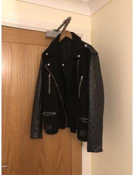 Topshop Biker Jacket/Coat Size 14 Uk Worn 3/4 Times Like Brand New by Ebay Seller