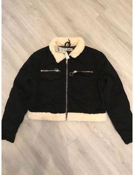 Ladies Black Topshop Coat Bnwt by Ebay Seller