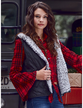 Altar'd State Carmen Outerwear Vest by Altar'd State