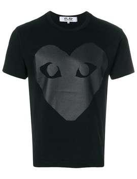 T Shirt Mit Print by Comme Des Garçons Play