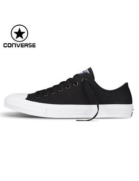 Original New Arrival 2018 Converse Chuck Taylor Ll Unisex Skateboarding Shoes Canvas Low Top  Sneakers by Converse