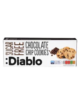 Diablo Sugar Free Chocolate  Chip Cookies 130g by Diablo Sugar Free Chocolate  Chip Cookies 130g