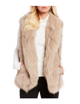 Luxury Collection Lydia Genuine Fur Vest by Antonio Melani