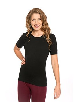 Heirloom 1/2 Sleeve Tee With Cuff, Scoop Neckline, Extra Length Slim Fit by Heirloom Clothing