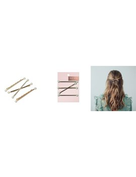 Metal Bobby Pins   Pearl by Kitsch