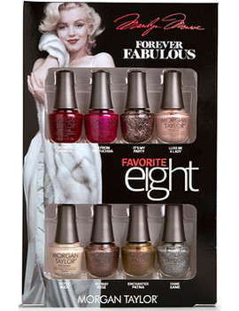 Online Only Forever Fabulous Marilyn Monroe Favorite 8 Mini Pack by Morgan Taylor
