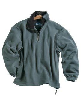 Men's 100 Percents Polyester Anti Pilling Micro Fleece 1/4 Zip Escape Pullover (6 Color) by Tri Mountain