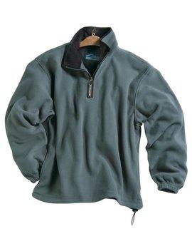 Men's 100 Percents Polyester Anti Pilling Micro Fleece 1/4 Zip Escape Pullover (6 Color) by Tri Mountain