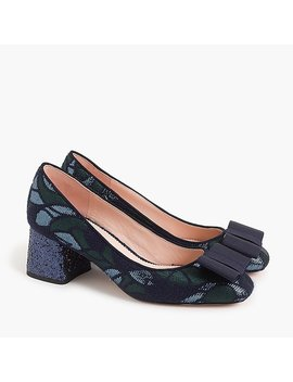 Block Heel Pumps by J.Crew