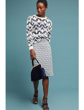 Emmy Textured Pencil Skirt by Maeve