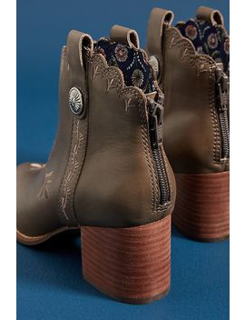 Seychelles Habitat Embroidered Ankle Boots by Seychelles