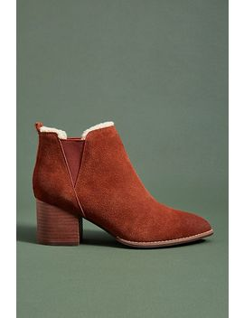 Liendo By Seychelles Shearling Lined Booties by Liendo By Seychelles