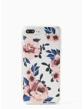 Jeweled Prairie Rose I Phone 7 & 8 Plus Case by Kate Spade
