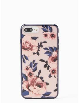 Glitter Prairie Rose Iphone 7 & 8 Plus Case by Kate Spade
