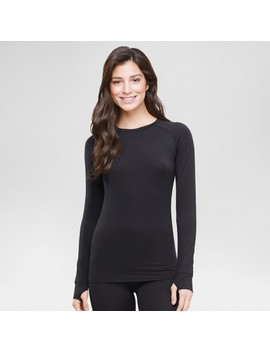Warm Essentials® By Cuddl Dudds® Women's Thermal Active Long Sleeve Crew Top by Shop This Collection