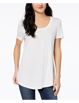 Scoop Neck T Shirt, Created For Macy's by Maison Jules