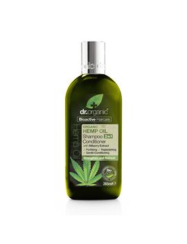 Dr Organic Hemp Oil 2 In 1 Shampoo & Conditioner 265ml by Dr Organic Hemp Oil 2 In 1 Shampoo & Conditioner 265ml