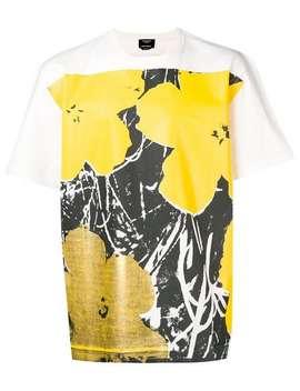 T Shirt Mit Blumen Print by Calvin Klein 205 W39nyc