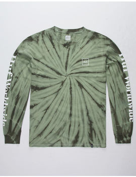 Huf Domestic Olive Mens T Shirt by Huf