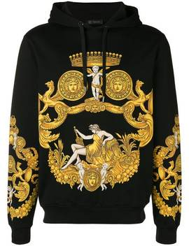 Kapuzenpullover Mit Print by Versace