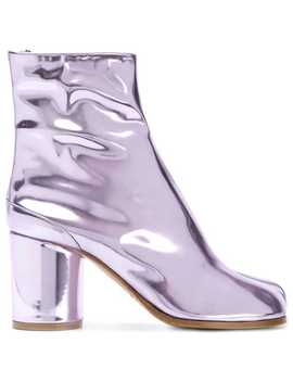 Laminated Tabi Boots by Maison Margiela