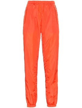 Elasticated Track Pant Trousers by Prada