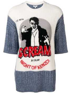 Scream Knit Jumper by Kenzo