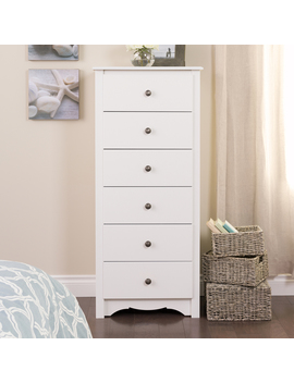 Prepac Furniture Monterey White 6 Drawer Lingerie Chest by Lowe's