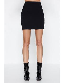 Lbs Bodycon Skirt by Nasty Gal