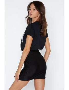 To The Disco Mini Skirt by Nasty Gal