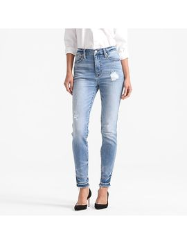 Point Sur Hightower Straight Jean In Pale Ice Wash by J.Crew