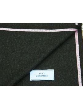 Kiton 100% Puro Cashmere Tessuto   Prodotta In Scozia, 1.85metres Metri by Ebay Seller