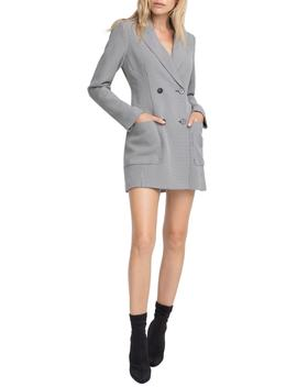 Houndstooth Blazer Dress by Astr The Label