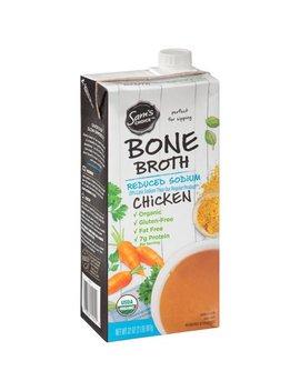 Sam'S Choice Organic Chicken Bone Broth, Reduced Sodium, 32 Oz by Sam's Choice