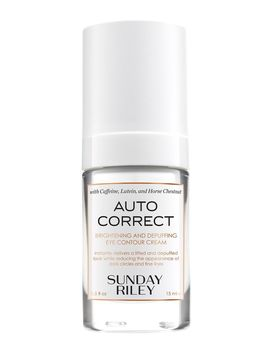 Autocorrect Brightening And Depuffing Eye Contour Cream by Sunday Riley
