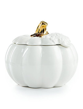 2 Pc. Harvest Pumpkin Covered Soup Bowl, Created For Macy's by Martha Stewart Collection