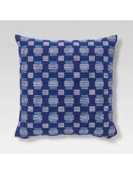 Geo Throw Pillow   Blue   Project 62™ by Project 62™