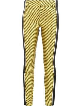 Geomtric Stripes Trousers by Haider Ackermann