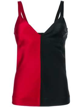 Two Tone Camisole Top by Haider Ackermann