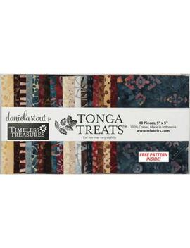 "Sale Sophisticate Batiks 40  5"" Tonga Treats Mini Charm Stacker Squares Precuts By Timeless Treasures 100 Percents Cotton Fabric For Quilting by Etsy"