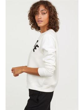 Sweatshirt Mit Druck by H&M